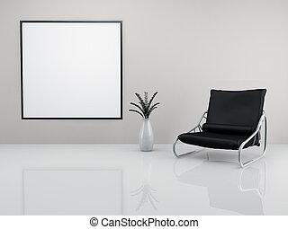 minimaliste, fauteuil