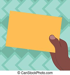 minimaliste, graphique, disposition, tenue, affaires colorent, isolé, analyse, hu, papier, vecteur, conception, publicité, gabarit, vide, dessiné, main, présentation, vide, carton