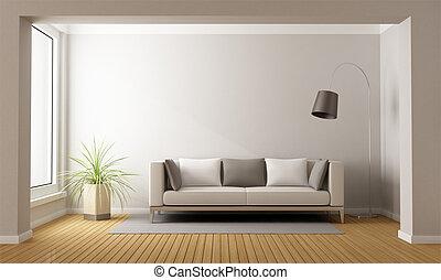 minimaliste, vivant