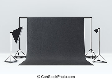 minimalistic, 写真の スタジオ, 内部