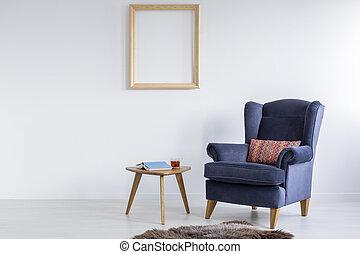 Minimalistic design of lounge