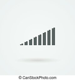 Minimalistic Vector icons volume or equalizer.