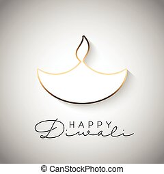 minimilistic diwali background 2109 - Diwali celebration...