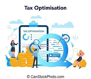 minimum., optimization, specialist, laddning, concept., ...
