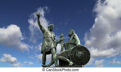 Minin and Pojarsky monument.Moscow - Minin and Pojarsky...