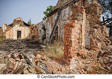mining area, traces historic Mining