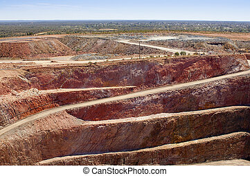 Mining Australia - Mining in Australia at the Cobar mine...