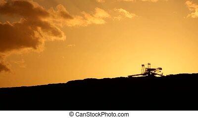 Mining bucket wheel