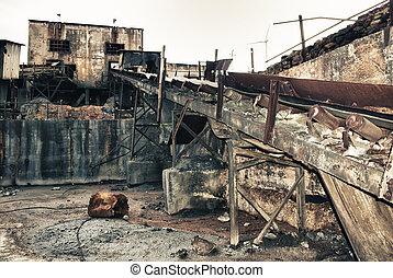 mining industry, Spain