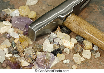 Mining - Stones and a Hammer