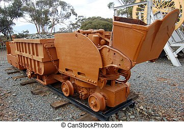 Mining tram