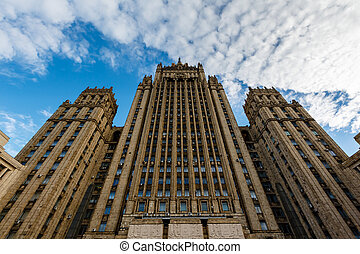 Ministry of Foreign Affairs of Russia, the Stalinist Skyscraper, Moscow