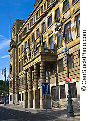 Ministry of Industry and Commerce in Prague