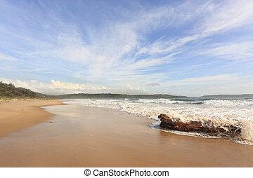minnamurra, praia, austrália