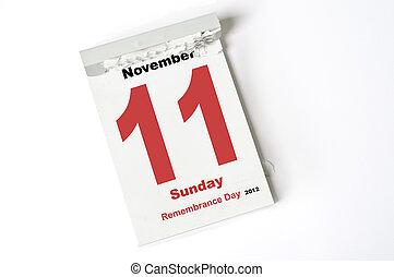 minne, november, 11., dag, 2012