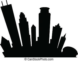 Minneapolis Silhouette