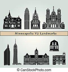 Minneapolis V2 Landmarks - Minneapolis landmarks and...