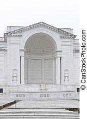 minnesmärke, ampitheatre, in, washington washington dc