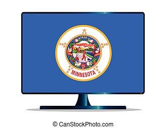 Minnesota Flag TV
