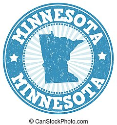 Minnesota stamp