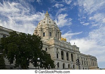 Minnesota State Capitol Corner