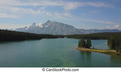 Minnewanka Lake in Banff National Park, Canada - Beautiful...