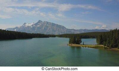 Minnewanka Lake in Banff National Park, Canada - Beautiful...