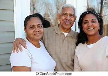 minoría, familia