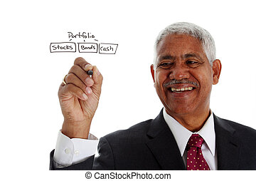 Minority Businessman Planning Retirement - Minority...