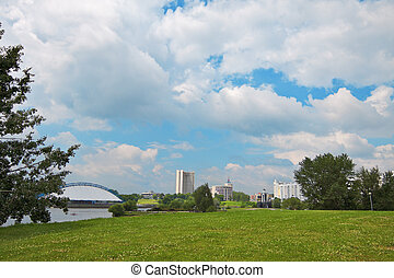Minsk at summer