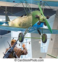 World War II Soviet Russian light night bomber PO-2