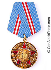 minsk, fehéroroszország, -, feb, 06:, orosz, (soviet), érem,...