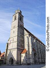 Minster of Dinkelsb?hl - Minster St. Georg of Dinkelsb?hl in...