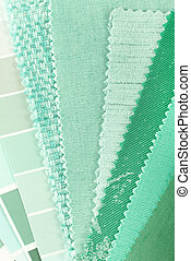 mint color choice for interior decoration