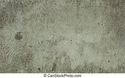 mint green gray worn washed concrete wall