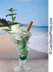 Mint sundae
