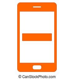 Minus and smartphone