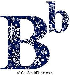minuscolo, b, lettere, maiuscolo, alfabeto, inglese