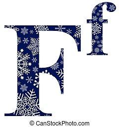 minuscolo, lettere, f, maiuscolo, inglese, alfabeto