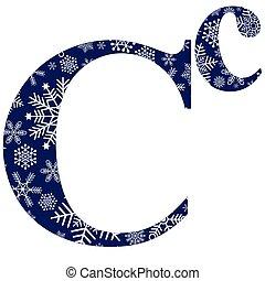 minuscolo, lettere, maiuscolo, alfabeto, c, inglese
