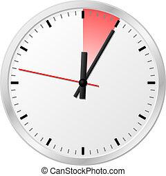 minuten, 5, zeitgeber, (five)