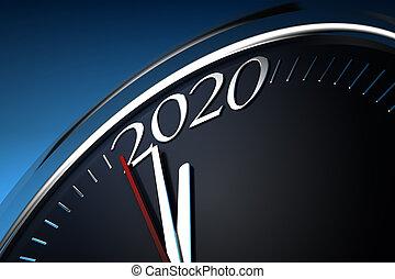 minutes, dernier, 2020