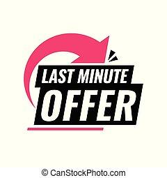 minuto, deal., último