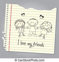 mio, amore, amici