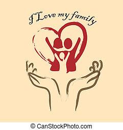 mio, amore, famiglia