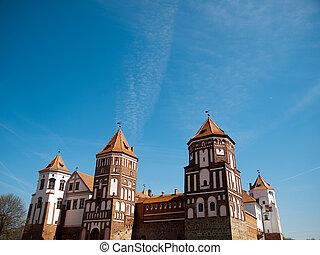 Mir -Belarus - Mirsky Castle Complex in Belarus