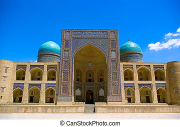 Mir-i Arab madrasah-element of the Kalyan ensemble. BuKhara....