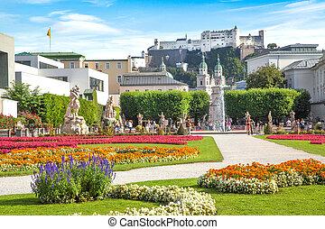 Mirabellgarten in Salzburg, Austria