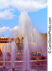 Miracle Wonderful photo of a fountain Stone flower - Miracle...