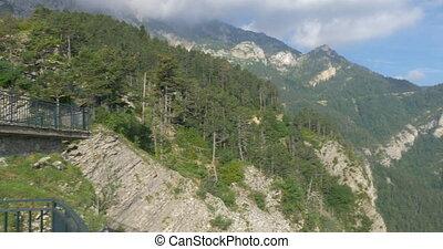 Mirador Gresolet In Cad?-Moixer? National Park, Pyrenees,...